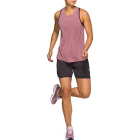 asics Race T-shirt sans manches Femme, purple oxide